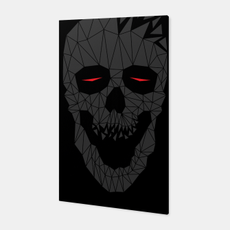 Miniatur Skull Triangle 2 Canvas, Live Heroes