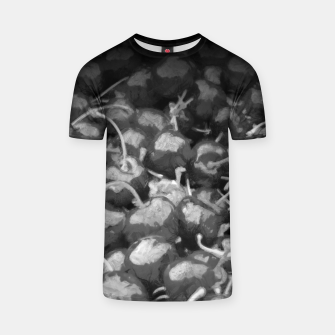 Thumbnail image of cherries pattern hvhdbw T-shirt, Live Heroes
