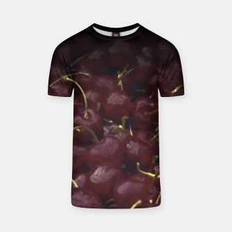 Thumbnail image of cherries pattern hvhdfn T-shirt, Live Heroes