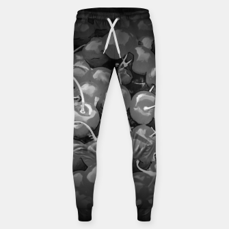 cherries pattern reaclibw Sweatpants miniature