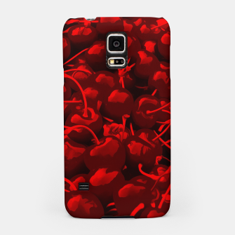 cherries pattern reacdr Samsung Case thumbnail image