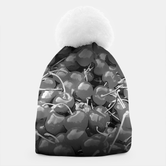 cherries pattern reaclibw Beanie miniature