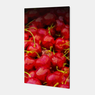 Thumbnail image of cherries pattern hvhdstd Canvas, Live Heroes
