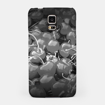 cherries pattern reaclibw Samsung Case miniature