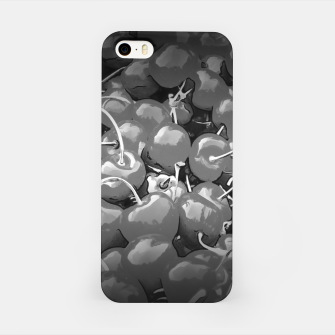 cherries pattern reaclibw iPhone Case miniature