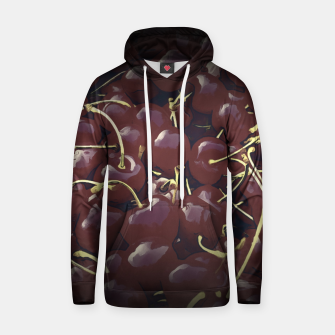 cherries pattern reaclifn Hoodie miniature