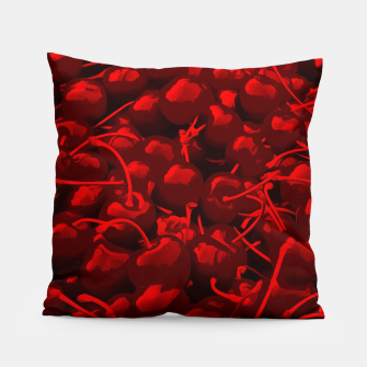 cherries pattern reacdr Pillow thumbnail image