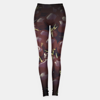 cherries pattern reaclifn Leggings thumbnail image