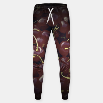 cherries pattern reaclifn Sweatpants thumbnail image