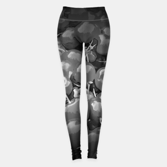 Thumbnail image of cherries pattern reaclibw Leggings, Live Heroes