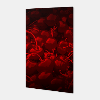 Thumbnail image of cherries pattern reaclidr Canvas, Live Heroes