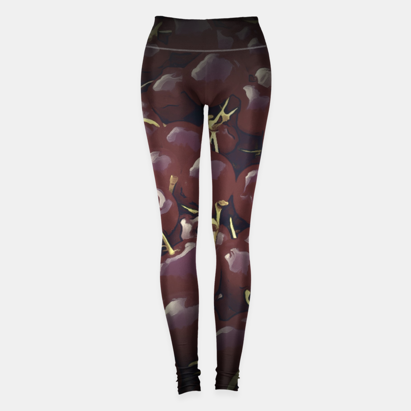 Image de cherries pattern reaclifn Leggings - Live Heroes
