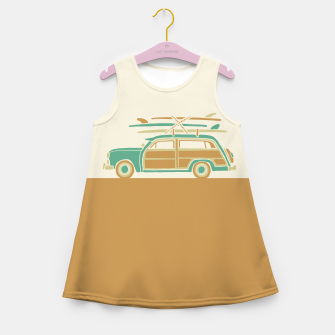 Thumbnail image of Surf car Girl's summer dress, Live Heroes