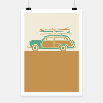 Thumbnail image of Surf car Poster, Live Heroes