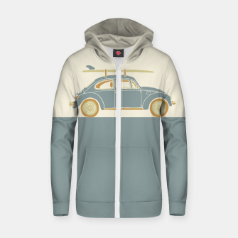 Surf Car Zip up hoodie thumbnail image