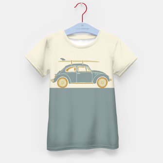 Surf Car Kid's t-shirt thumbnail image