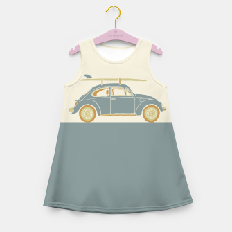 Surf Car Girl's summer dress thumbnail image