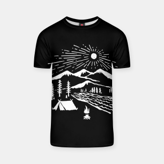 Thumbnail image of Wilderness T-shirt, Live Heroes