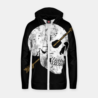 Thumbnail image of Arrow Zip up hoodie, Live Heroes