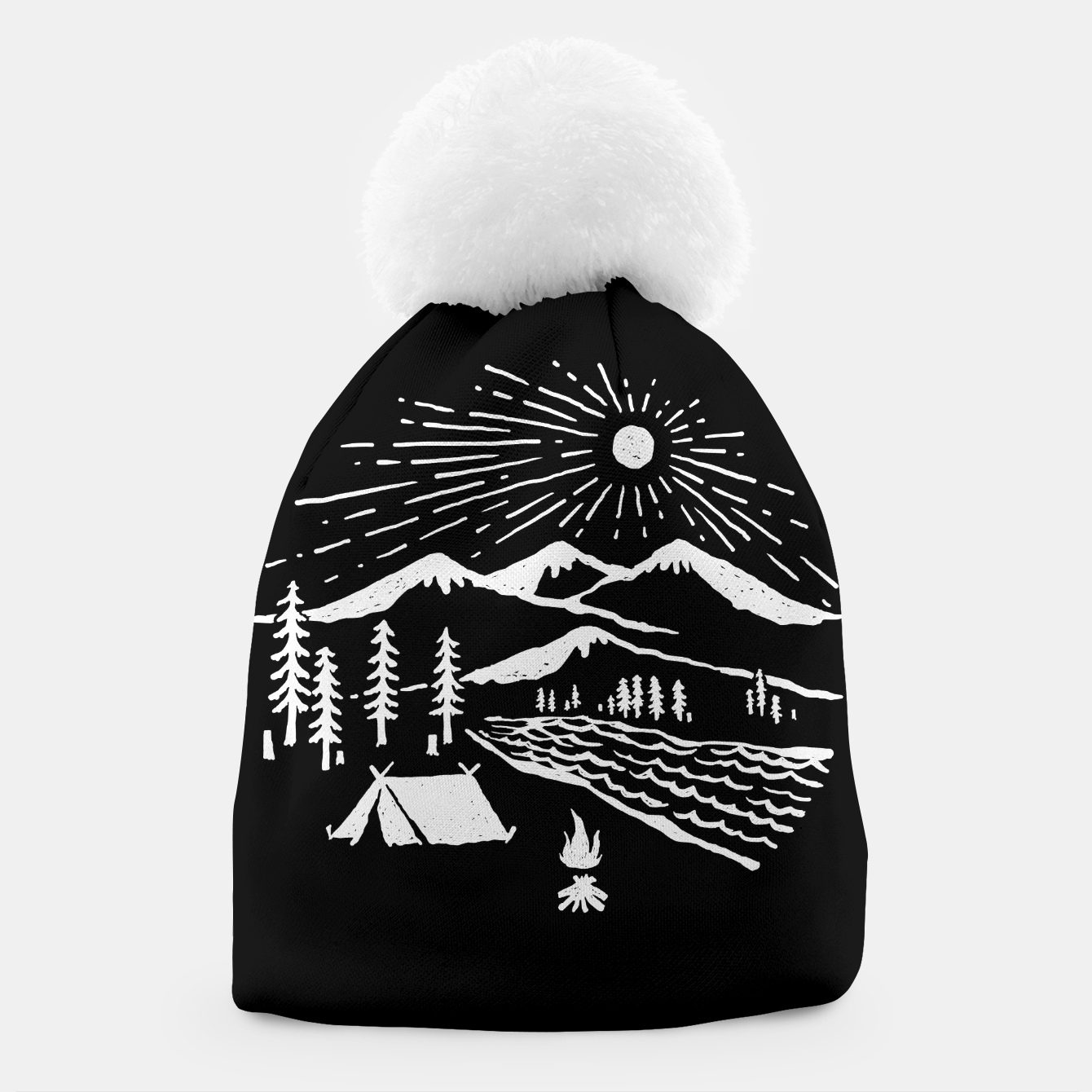 Image of Wilderness Beanie - Live Heroes