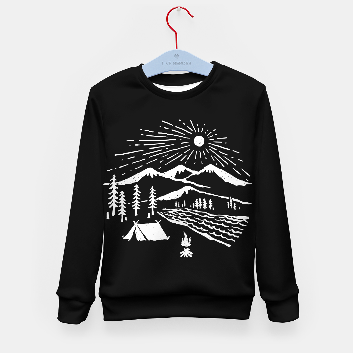 Image of Wilderness Kid's sweater - Live Heroes