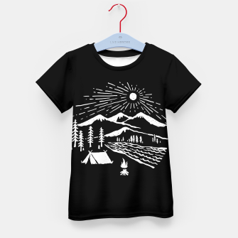 Thumbnail image of Wilderness Kid's t-shirt, Live Heroes