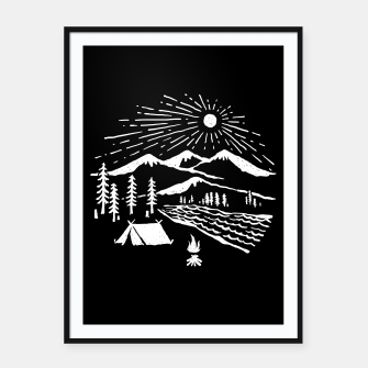 Thumbnail image of Wilderness Framed poster, Live Heroes