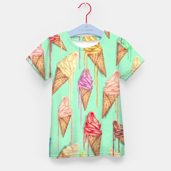 Miniatur Ice Cream Kid's t-shirt, Live Heroes