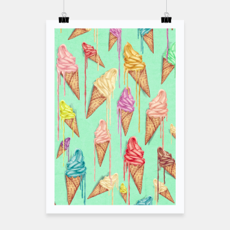 Thumbnail image of Ice Cream Poster, Live Heroes