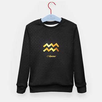Miniatur Aquarius Kid's sweater, Live Heroes