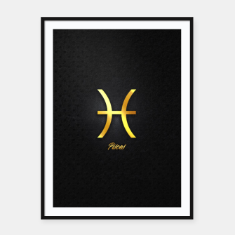 Thumbnail image of Pisces Framed poster, Live Heroes