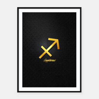 Thumbnail image of Sagittarius Framed poster, Live Heroes