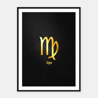 Thumbnail image of Virgo Framed poster, Live Heroes