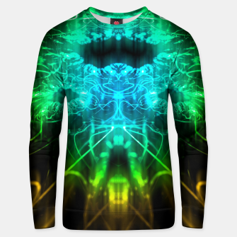 Miniatur Abstract Fractal Unisex sweater, Live Heroes