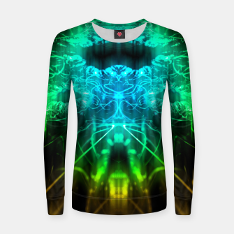 Miniatur Abstract Fractal Women sweater, Live Heroes