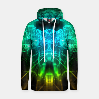 Miniatur Abstract Fractal Hoodie, Live Heroes