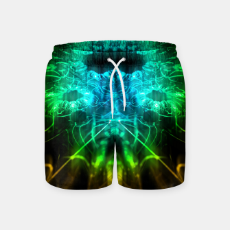 Miniatur Abstract Fractal Swim Shorts, Live Heroes