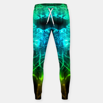 Miniatur Abstract Fractal Sweatpants, Live Heroes