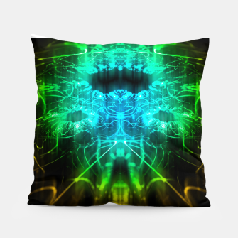 Thumbnail image of Abstract Fractal Pillow, Live Heroes