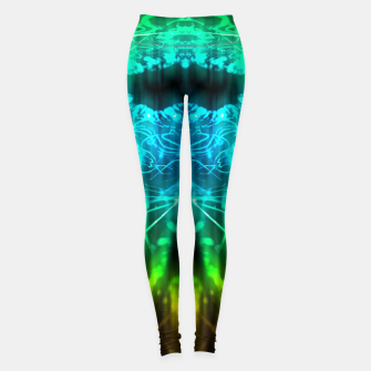 Thumbnail image of Abstract Fractal Leggings, Live Heroes