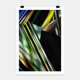 Thumbnail image of Abstracto Plakat, Live Heroes