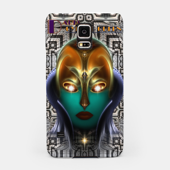Thumbnail image of Daria Cyborg Queen Tech Fractal Portrait Samsung Case, Live Heroes