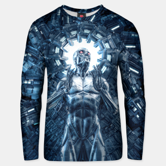 Thumbnail image of I Dream In Steel Unisex sweater, Live Heroes