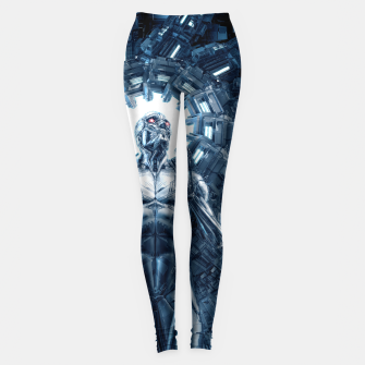 I Dream In Steel Leggings Bild der Miniatur