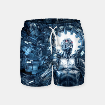 Thumbnail image of I Dream In Steel Swim Shorts, Live Heroes