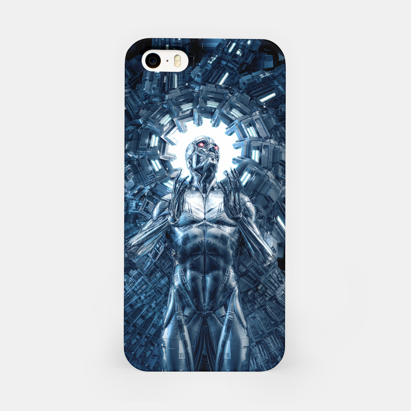 Foto I Dream In Steel iPhone Case - Live Heroes