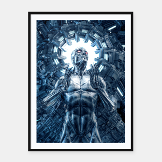 Thumbnail image of I Dream In Steel Framed poster, Live Heroes