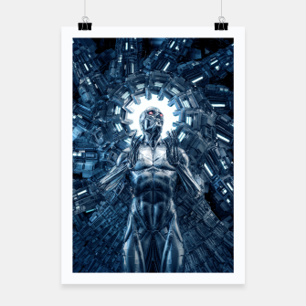 Thumbnail image of I Dream In Steel Poster, Live Heroes