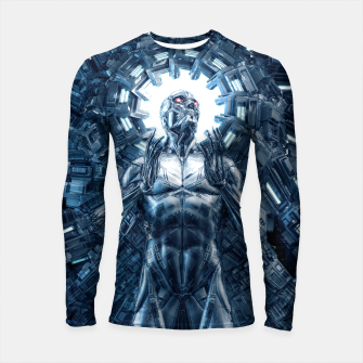 Thumbnail image of I Dream In Steel Longsleeve rashguard , Live Heroes