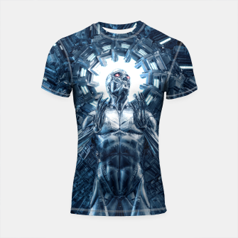 I Dream In Steel Shortsleeve rashguard Bild der Miniatur